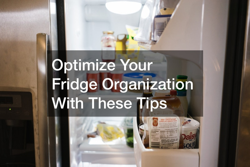 Optimize Your Fridge Organization With These Tips