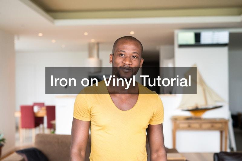 Iron on Vinyl Tutorial